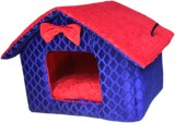 Poofy's Pet Island BRH2 M Pet Bed (Blue,...