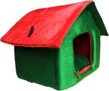 Poofy's Pet Island RGH2 M Pet Bed (Red, ...