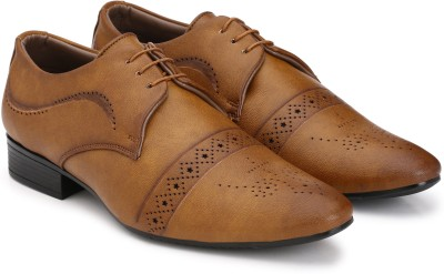 Prolific Brogue Lace Up(Tan)