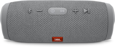 JBL CHARGE 3 Portable Bluetooth Mobile/Tablet Speaker(Grey, 2.0 Channel)