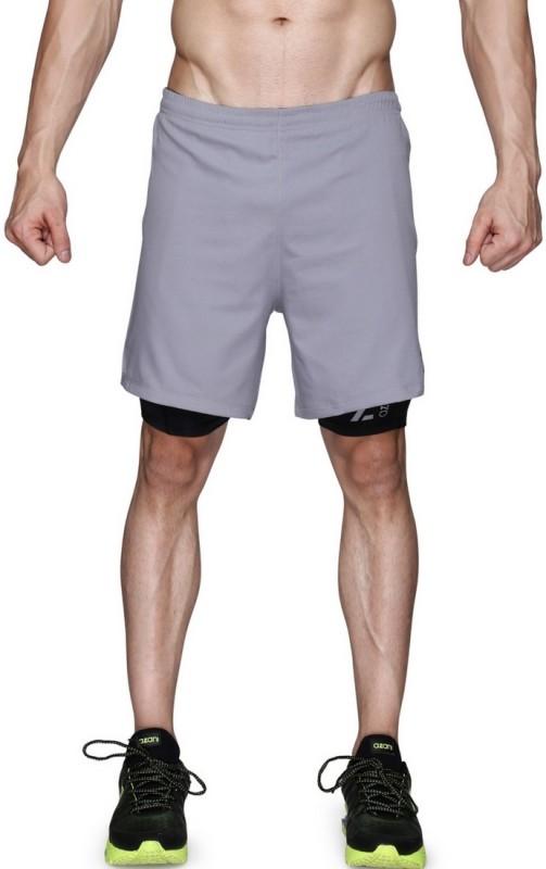 Azani Solid Men's Grey Tights