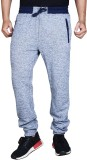 Finger's Solid Men's Grey Track Pants