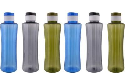 Aarushi Flip Top 1000 ml Bottle(Pack of 6, Multicolor)
