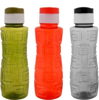 Aarushi Flip Top 500 ml Bottle(Pack of 3, Multicolor)