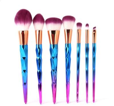 4201c491eac8d Ladista Unicorn Colorful Makeup Brushes Thread Rainbow Professional Make Up  Brushes Set Blending Powder Foundation Contour