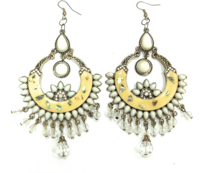 AMARA JEWELLERS INDOWESTERN EARRINGS Brass Drop Earring at flipkart