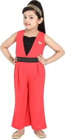 Hunny Bunny Solid Girls Jumpsuit