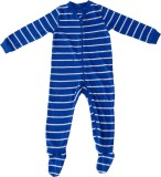 Indirang Romper For Boys Striped Cotton ...