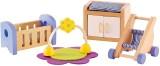 Hape Hape-Wooden Baby'S Room -EduToys (7 Pieces)