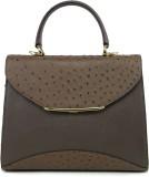 Da Milano Shoulder Bag (Brown, 5 inch)