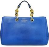 Da Milano Shoulder Bag (Blue, 5 inch)