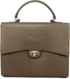 Da Milano Shoulder Bag (Taupe, 5 inch)