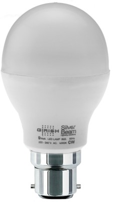 Girish 9 W Standard B22 LED Bulb(White, Pack of 10) Image