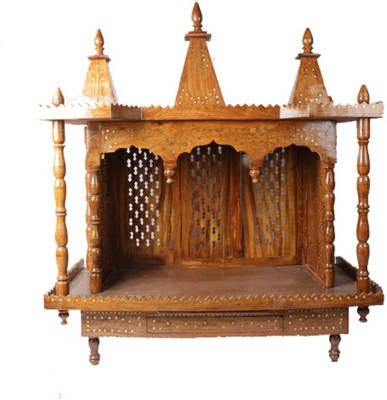 Aarsun Woods MNDR_0173 Wooden Home Temple(Height: 106.68 cm)