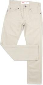 Levi's Slim Boys Beige Jeans