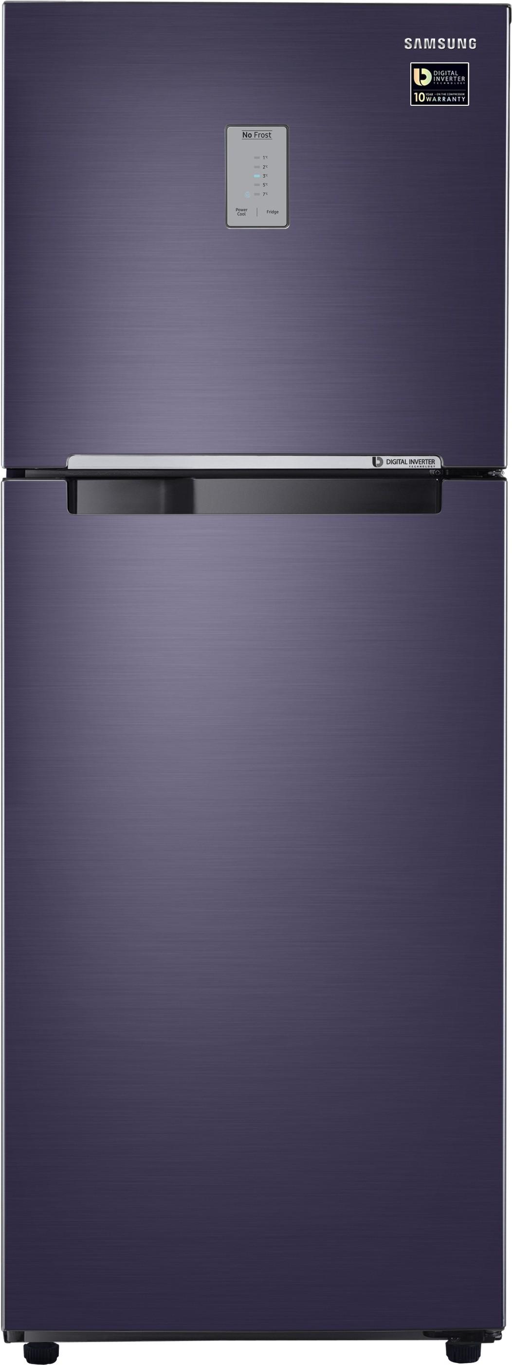 SAMSUNG 321 L Frost Free Double Door Refrigerator(RT34M3444UT/HL, Pebble Blue, 2017) (Samsung) Tamil Nadu Buy Online