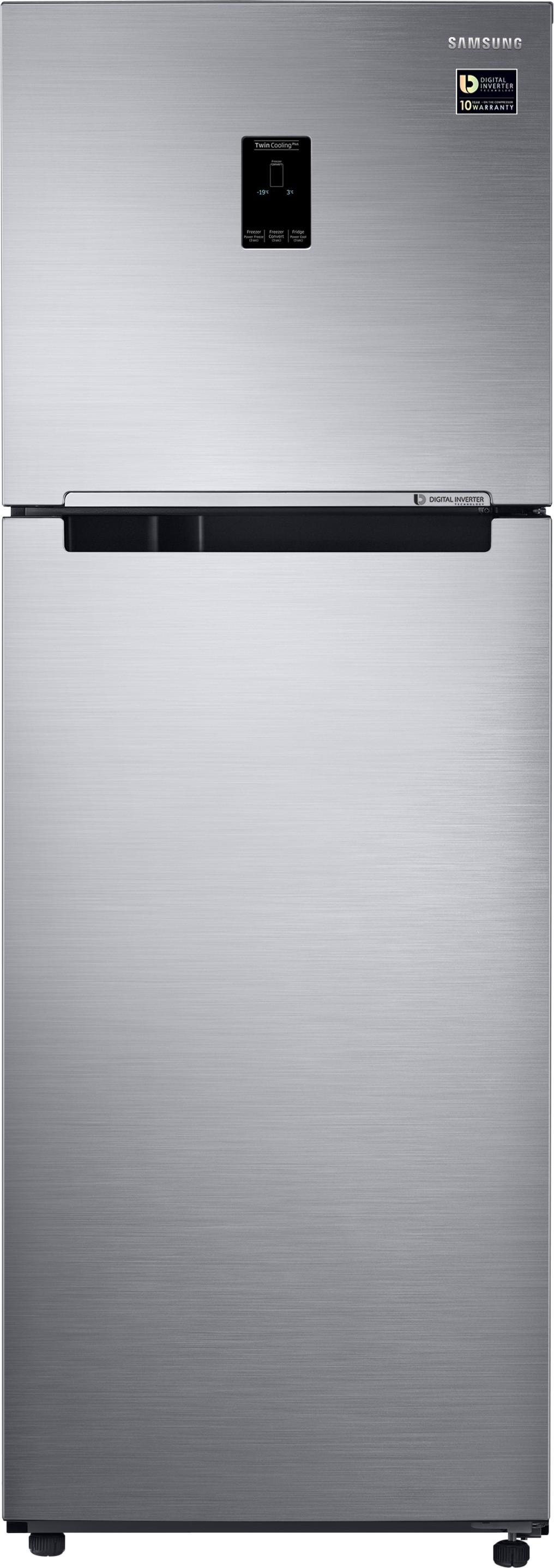 SAMSUNG 345 L Frost Free Double Door Refrigerator(RT37M5538S9/TL, Refined Inox, 2017) (Samsung) Tamil Nadu Buy Online