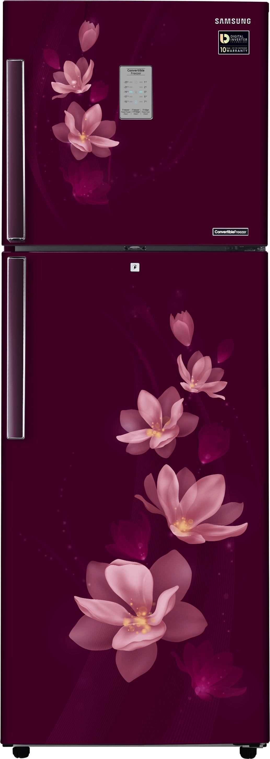 SAMSUNG 321 L Frost Free Double Door Refrigerator(RT34M3954R7/HL, Magnolia Plum, 2017) (Samsung) Tamil Nadu Buy Online