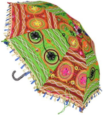 Lal Haveli Small Size Sun Umbrella(Multicolor)