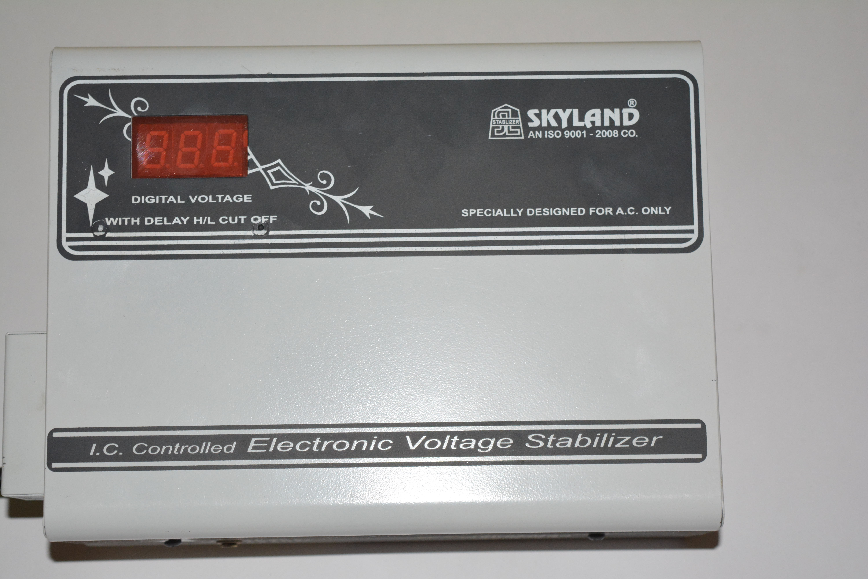 View skyland SKY170DIGI voltage stabalizer(Grey, White) Home Appliances Price Online(skyland)