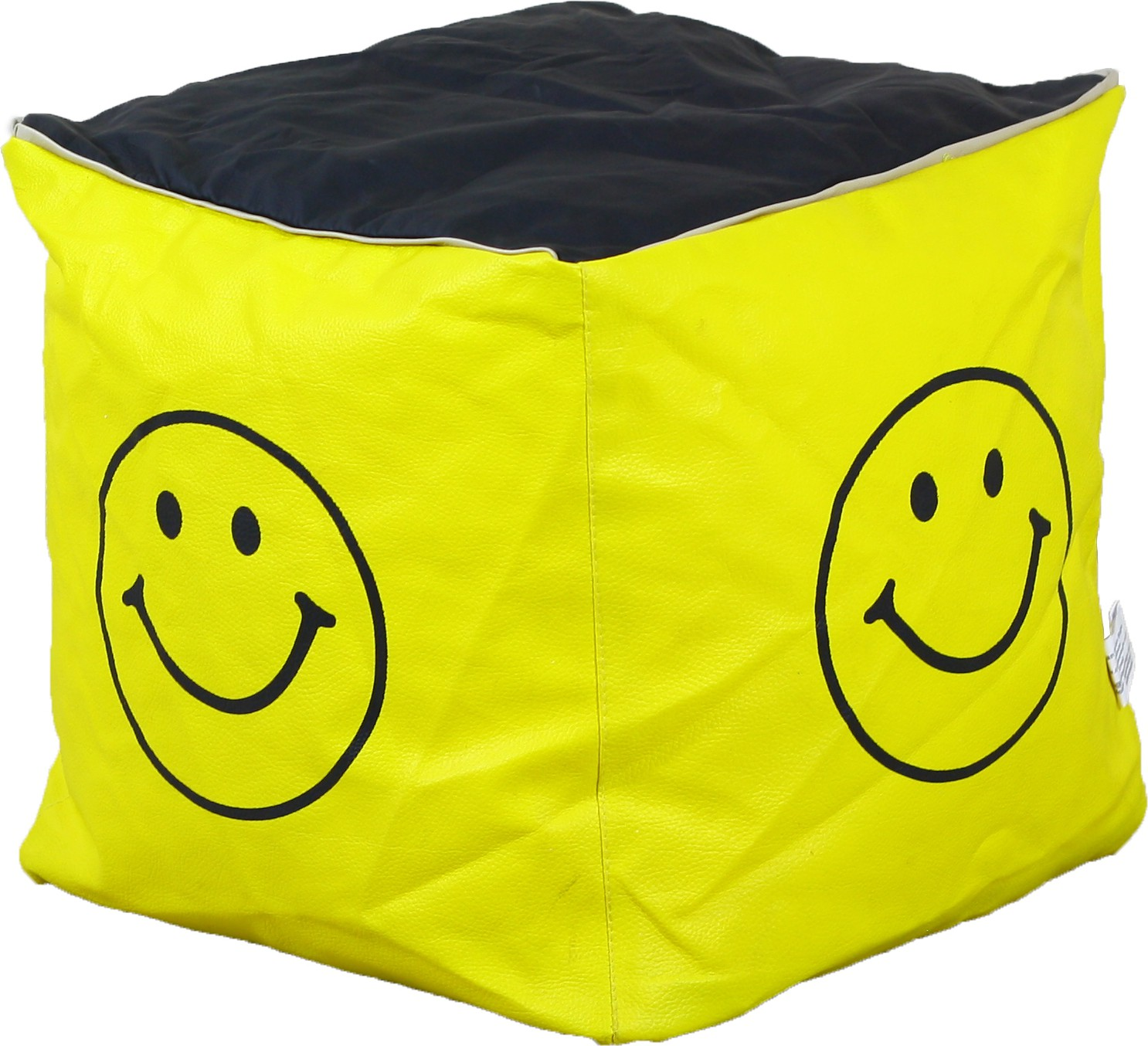 View Gabbroo Large Bean Cube Cover(Yellow) Furniture (StyleCraft)