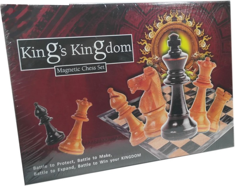 HALO NATION Kings Kingdom Magnetic Chess - Ratna's Board Game