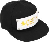 Vaishnavi Self Design Obey Cap