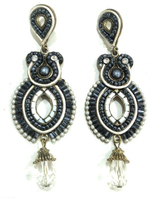 AMARA JEWELLERS WESTERN EARRINGS Sterling Silver Drop Earring at flipkart