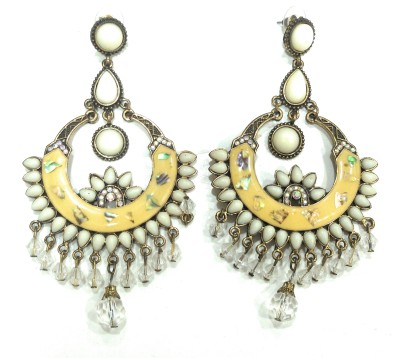 AMARA JEWELLERS INDOWESTERN EARRINGS Sterling Silver Drop Earring at flipkart