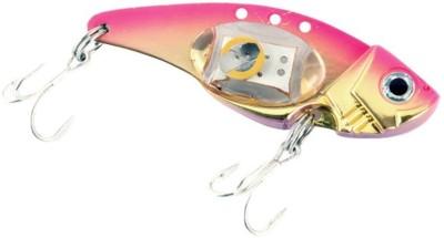 Futaba Electronic LED Fishing Lure - Pink Soft Bait Fishing Lure(Pack of 1 Size 5)