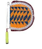 Apex Self Design Multicolor Hand Fan (Pa...