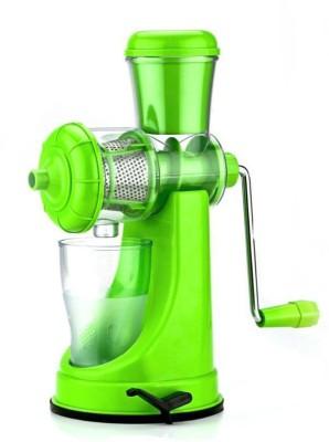Shrih Portable Plastic, Stainless Steel Hand Juicer(Green) at flipkart