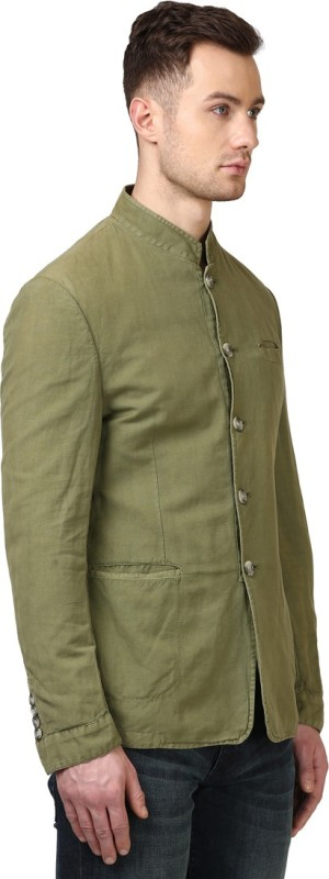 Park Avenue Full Sleeve Solid Men's Jacket
