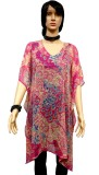 adcollections Printed Polyester georgett...