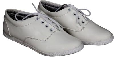 Footshez Womens Black Elegant Fashionable Platform Formal Bellies Shoes Casuals(White)