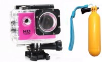 Flipfit ULTRASHOTx Waterproof Digital 89 PINK Sports and Action Camera(Pink 10.4 MP)