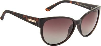 Farenheit FA-1665P-C2 Over-sized Sunglasses(Brown) at flipkart