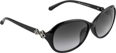 Farenheit FA-1651-C1 Oval Sunglasses(Grey) at flipkart