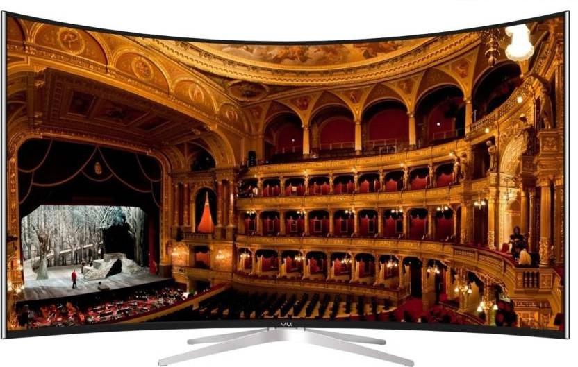 View Vu 163cm (65) Ultra HD (4K) Smart, Curved LED TV(TL65C1CUS, 3 x HDMI, 2 x USB) Price Online(Vu)