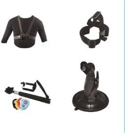Click Pro Body Strap Camera Mount(Black)