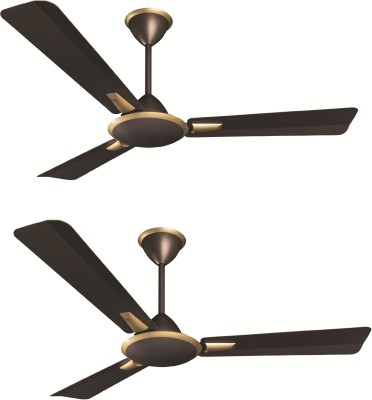 Crompton Aura Prime Anti Dust 3 Blade Ceiling Fan(Chicory)