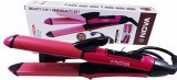 Nova NHC 2009 2 in 1 Hair Straightener & Curler Hair Curler (Pink)