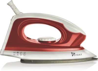 Syska Magic SDI-05 Dry Iron(White & Red)