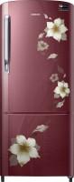 Samsung 192 L Direct Cool Single Door Refrigerator(RR20M172ZR2-HL/ RR20M272ZR2-NL, Star Flower Red, 2017)
