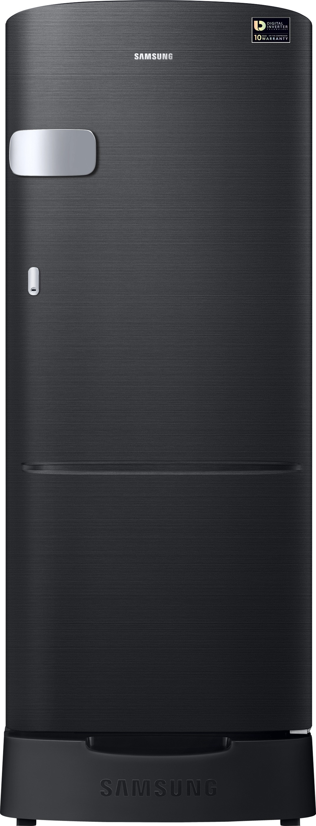 SAMSUNG 192 L Direct Cool Single Door Refrigerator(RR20M2Z2XBS/NL,RR20M1Z2XBS/HL, Black Mirror VCM, 2017)   Refrigerator  (Samsung)
