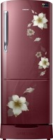 Samsung 192 L Direct Cool Single Door Refrigerator(RR20M282ZR2/NL,RR20M182ZR2/HL, Star Flower Red, 2017)