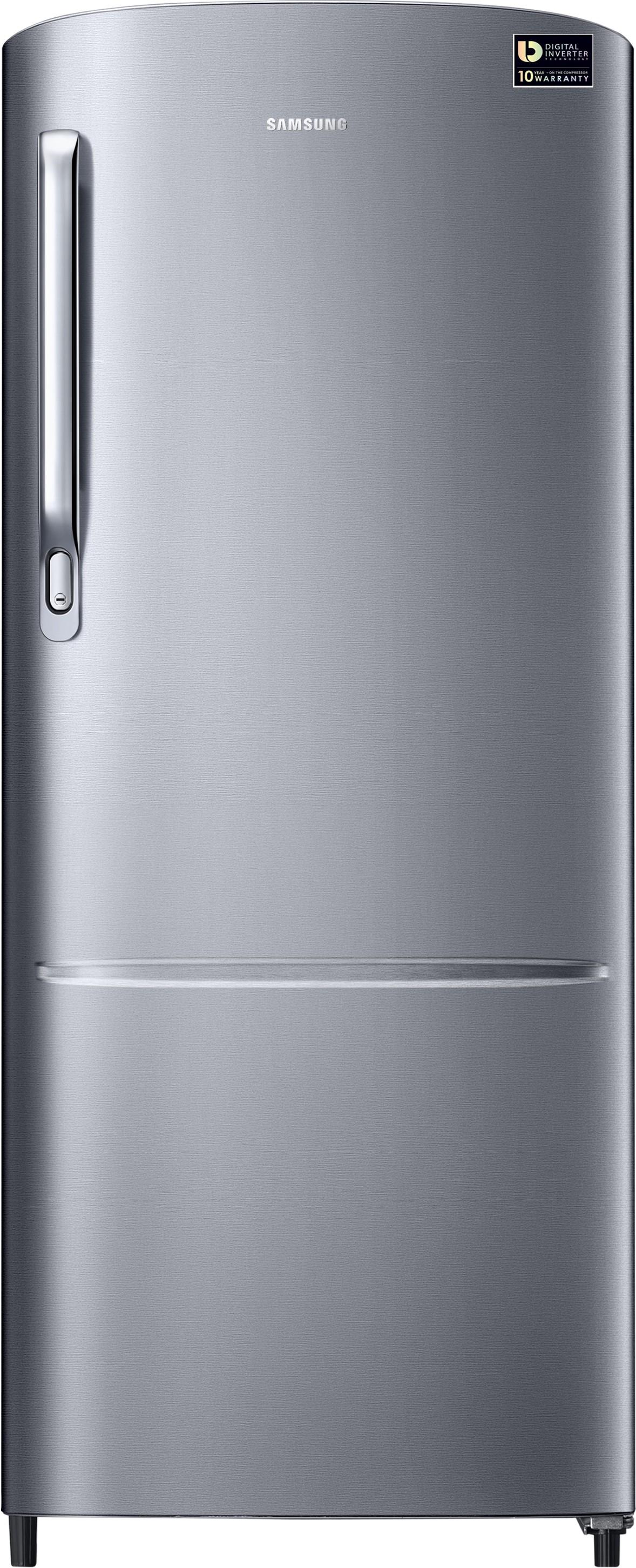 Samsung 212 L Direct Cool Single Door Refrigerator(RR22M272ZS8/NL, Elegant Inox, 2017)   Refrigerator  (Samsung)