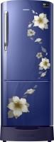 Samsung 230 L Direct Cool Single Door Refrigerator(RR24M289YU2/NL, Star Flower Blue, 2017)