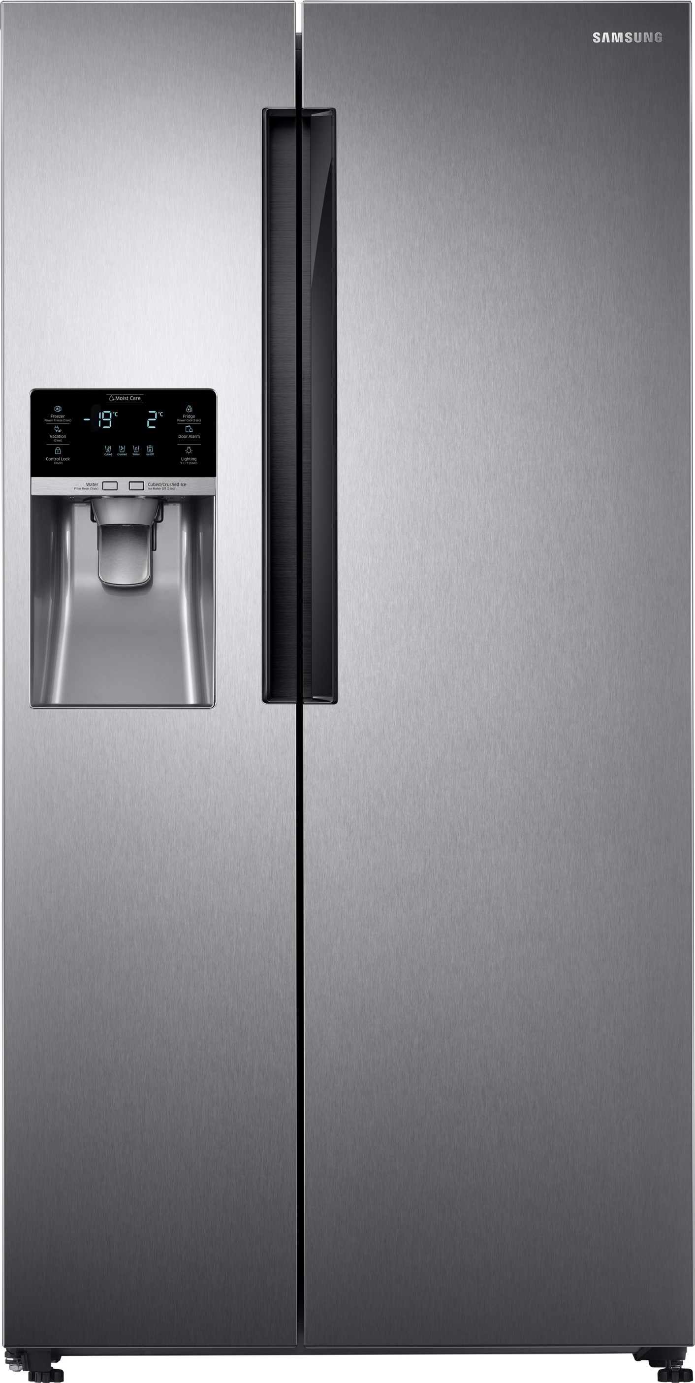 View SAMSUNG 654 L Frost Free Side by Side Refrigerator(RS58K6417SL/TL, Clean Steel)  Price Online