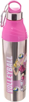 TRUENOW VENTURES Pvt. Ltd Sports Insulated unbreakable Stainless Steel 700 ml Bottle(Pack of 1, Pink)